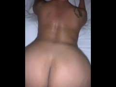 50 Year Old Throwing Fat Ass On BBC